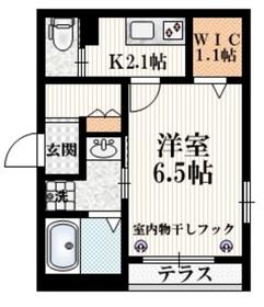 飯田橋駅 徒歩5分1階Fの間取り画像