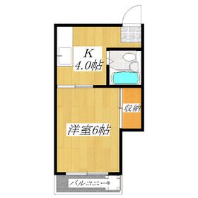 キッチンが広いお部屋です!