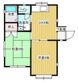 二俣川駅 徒歩13分1階Fの間取り画像