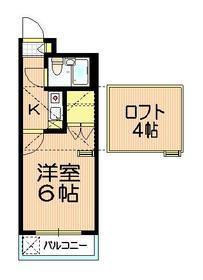 ミ・アビタシオン・ノザワ3階Fの間取り画像