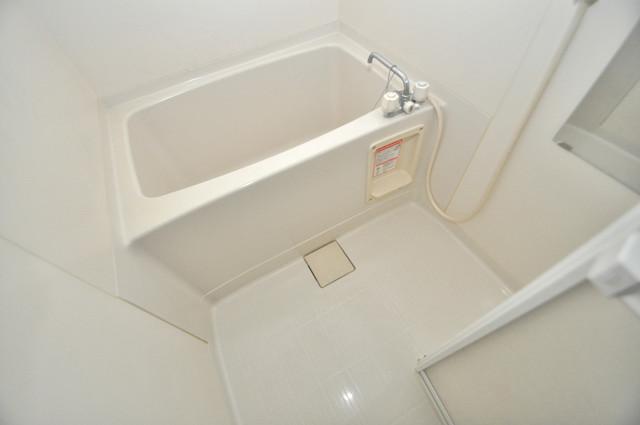 フレンディー ちょうどいいサイズのお風呂です。お掃除も楽にできますよ。