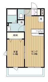 リブリ・SAKAE2階Fの間取り画像