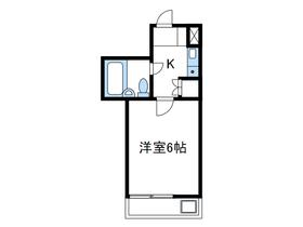 ベルトピア小田急相模原Ⅲ2階Fの間取り画像