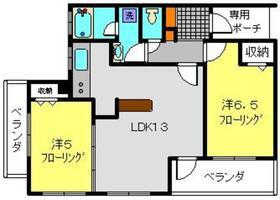 サンクチュアリ横浜吉野町パークフロント4階Fの間取り画像