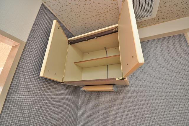 ハイツ片岡Ⅱ 吊り戸棚付きで収納力バツグンです。