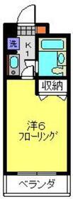 AKハイム入江パーク2階Fの間取り画像