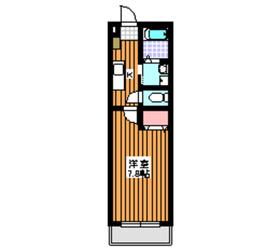 成増駅 徒歩7分3階Fの間取り画像