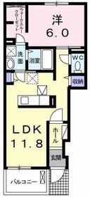 小宮駅 徒歩26分1階Fの間取り画像