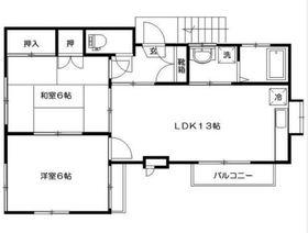 KOU2階Fの間取り画像