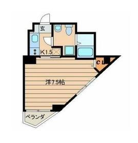 アルム ソエダ ビル4階Fの間取り画像