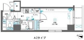 フェニックス横濱吉野町4階Fの間取り画像