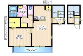 Kハイム洋光台2階Fの間取り画像