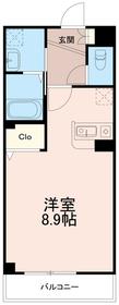 カーサフィオーレ1階Fの間取り画像