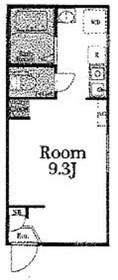 テイルズガーデン川崎2階Fの間取り画像