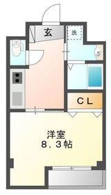リベル横浜4階Fの間取り画像