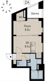 BUCKWHEAT TANAKA(バックウィートタナカ)2階Fの間取り画像