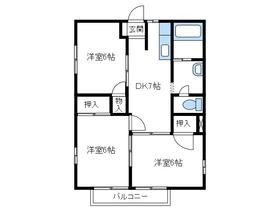 本厚木駅 バス9分「下依知入口」徒歩10分1階Fの間取り画像