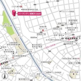 パークシティ成城 A-court案内図