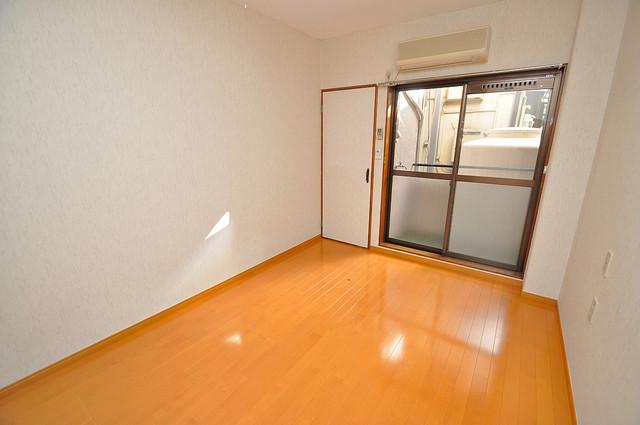 太陽マンション 明るいお部屋は風通しも良く、心地よい気分になります。