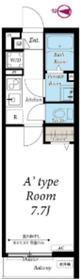 リブリ・Anjewel 3階Fの間取り画像