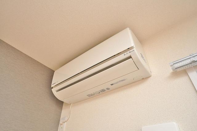 フジパレス高井田西Ⅱ番館 エアコンがあるのはうれしいですね。ちょっぴり得した気分。