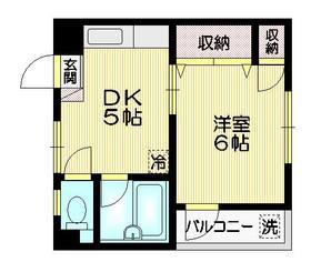 SOMIYAプラザ3階Fの間取り画像