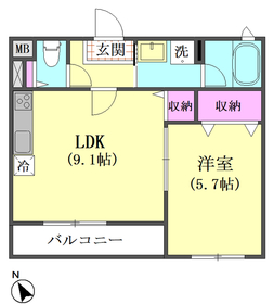 エルアノール 102号室
