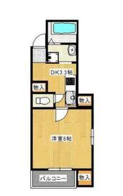 アニマース1階Fの間取り画像