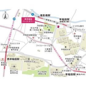 西早稲田パーク・タワー案内図