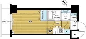 トーシンフェニックス日本橋EAST2階Fの間取り画像