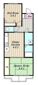 ジュネパレス相模原第33階Fの間取り画像