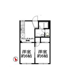 弘明寺駅 徒歩11分1階Fの間取り画像