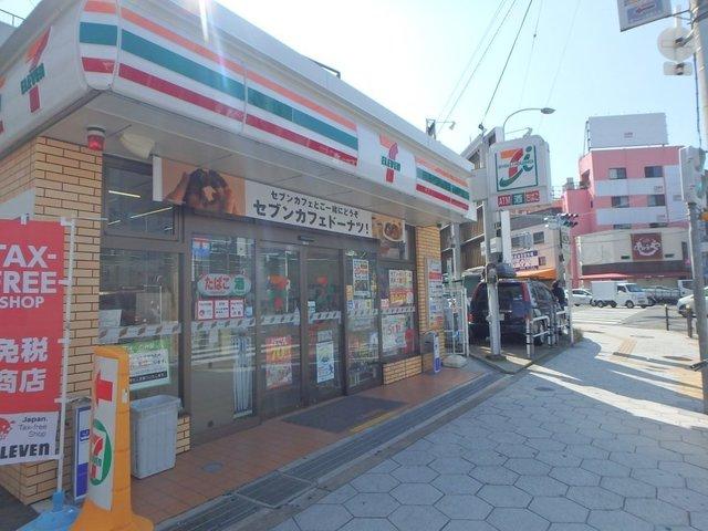 コスモタウン中川西 セブンイレブン大阪桃谷5丁目店