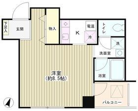 TKR神田多町5階Fの間取り画像