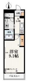 小竹向原駅 徒歩5分1階Fの間取り画像