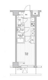N-stage Fujisawa2階Fの間取り画像