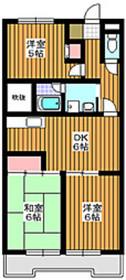 成増駅 徒歩12分1階Fの間取り画像