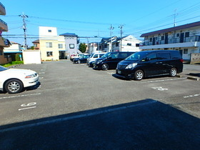 シャネレードMK駐車場