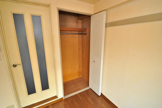 ヴィラアルタイル 収納がたくさんあると、お部屋がすっきり片付きますね。