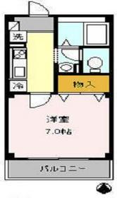 アトリオ トモ 弐番館3階Fの間取り画像