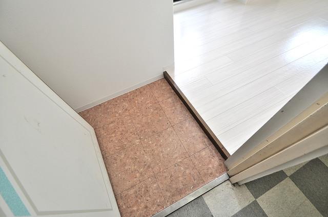 ハイム上小阪 素敵な玄関は毎朝あなたを元気に送りだしてくれますよ。