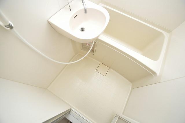レオパレス菱屋西 一日の疲れを洗い流す大切な空間。ゆったりくつろいでください。