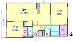 (仮)本羽田RESIDENCE 101号室