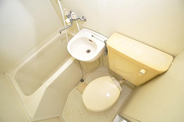 スカイプラザⅢ シャワー一つで水回りが掃除できて楽チンです