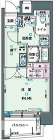 神田駅 徒歩7分5階Fの間取り画像