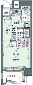 小伝馬町駅 徒歩4分5階Fの間取り画像