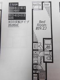 ビバリーホームズ下赤塚2階Fの間取り画像