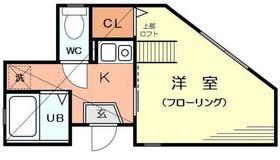 G・Aタウン鶴ヶ峰1階Fの間取り画像