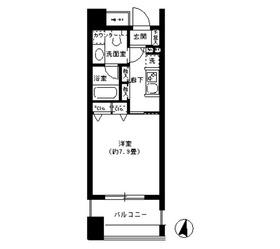 クリオ文京小石川4階Fの間取り画像
