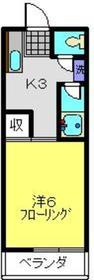 新丸子駅 徒歩12分1階Fの間取り画像